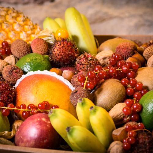 Le petit panier de fruits des fêtesPrix : 36€