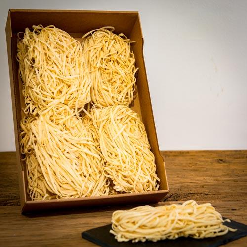 """Les pâtes fettuccine – """"Fatto in Italia"""""""